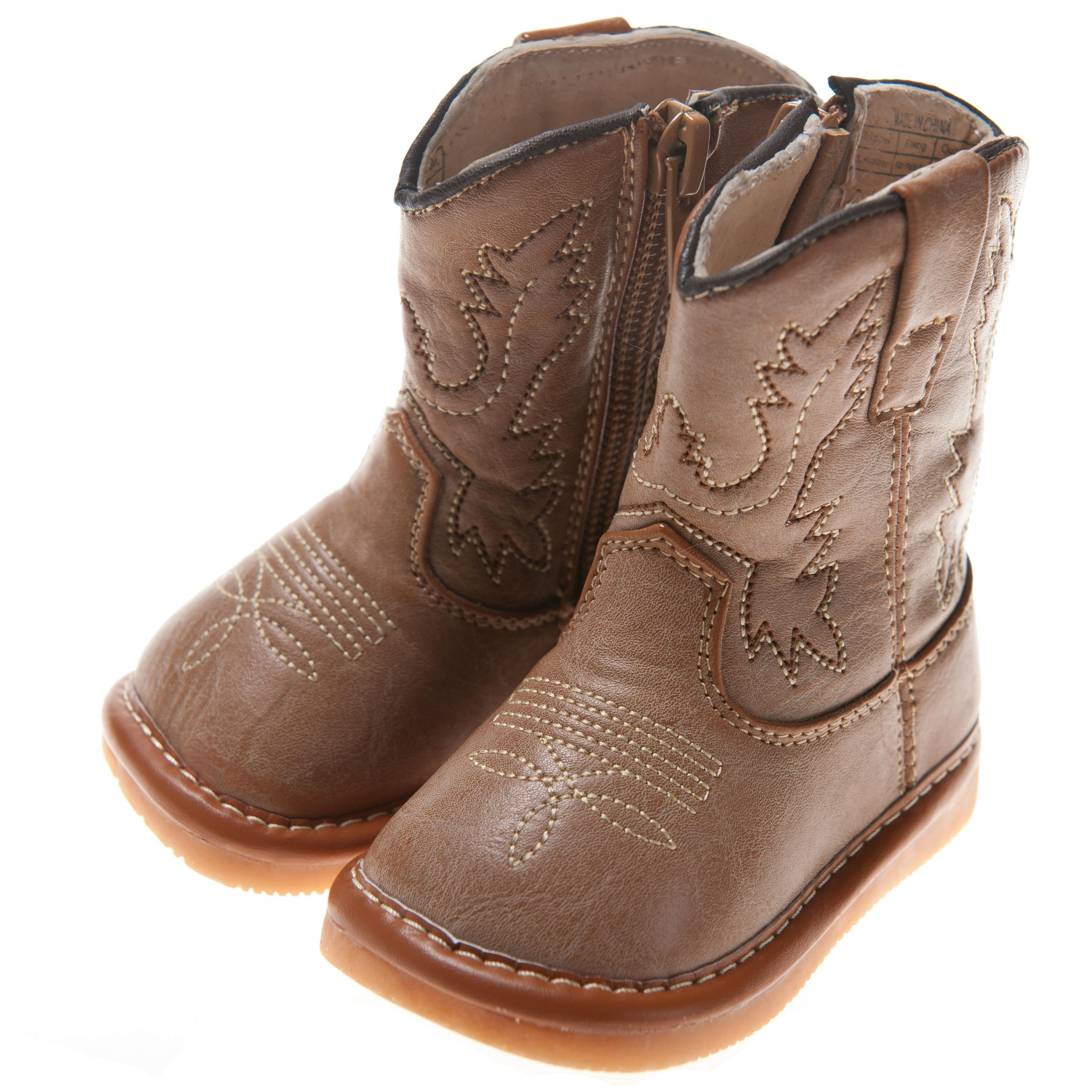 cowboy squeaky boots toddler size1 7 ebay