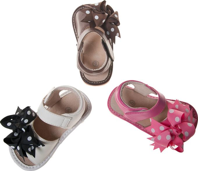 Zebra Print Toddler Sandals Up to Size 7 for Toddlers Squeaky Sandals