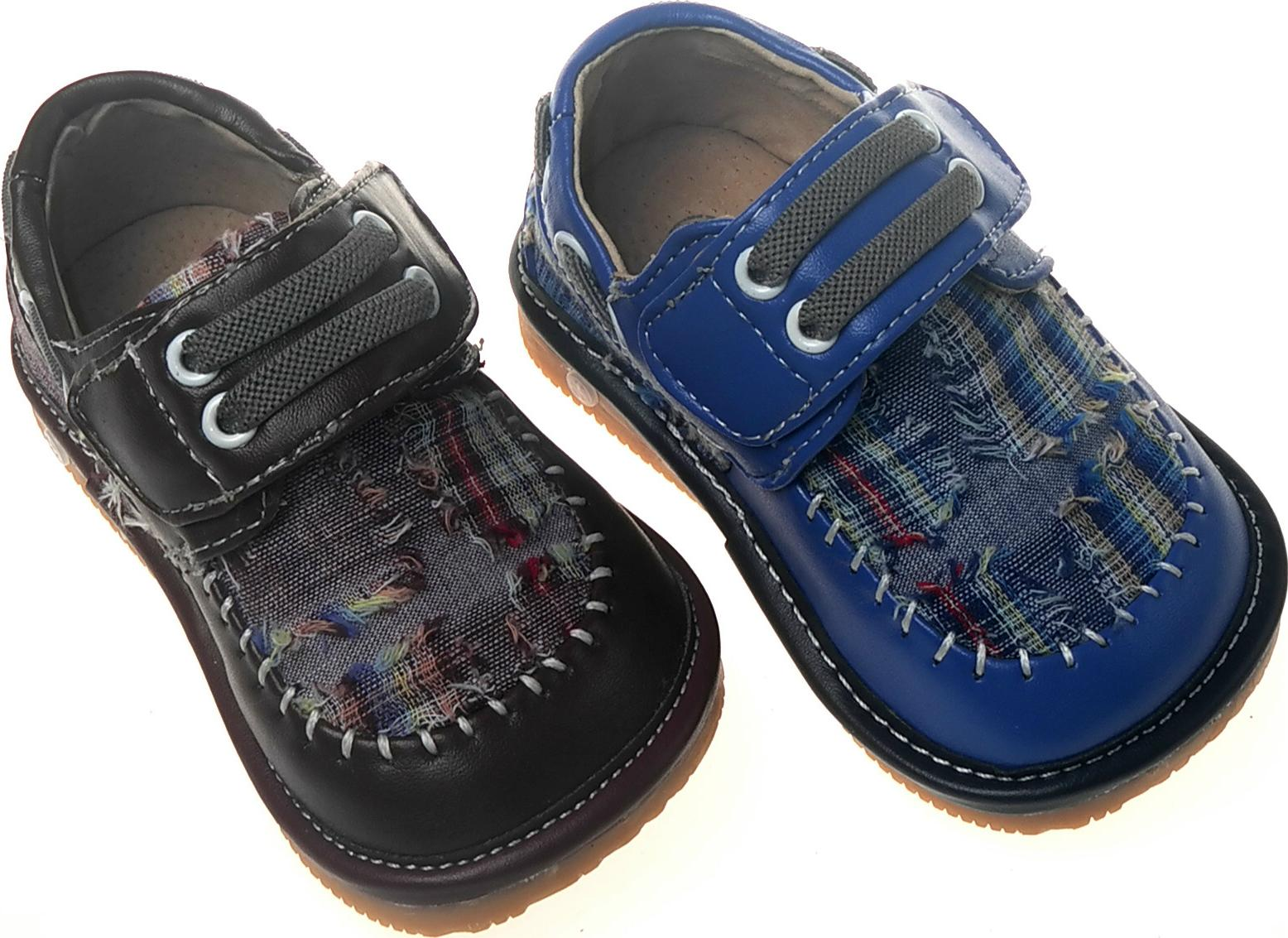 boy squeaky shoes blue sq766dr toddler size 1 7